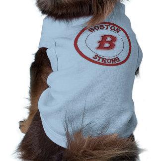 Camisa fuerte del perro de Boston Playera Sin Mangas Para Perro