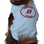 Camisa fuerte del perro de Boston Ropa De Perros
