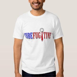 Camisa fugitiva de la bandera del cubo