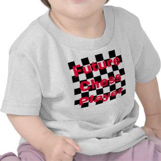 Camisa futura 2 del ajedrez de los niños del niño