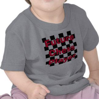 Camisa futura 3 del ajedrez de los niños del niño