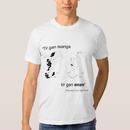 Camisa gan de Tír Teanga