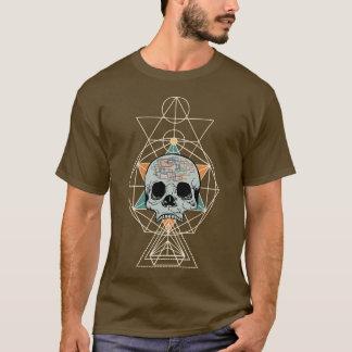Camisa geométrica del arte gráfico de la canción