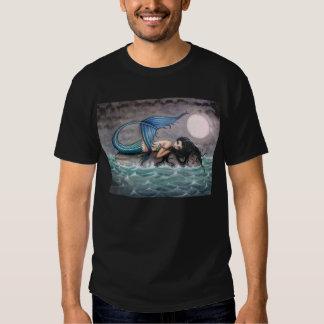 Camisa gótica de la sirena de la isla minúscula