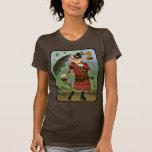 Camisa gótica del arte de la fantasía del Victoria
