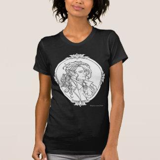 Camisa gótica del bosquejo del vampiro de Le