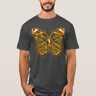 Camisa grabada de la mariposa 1