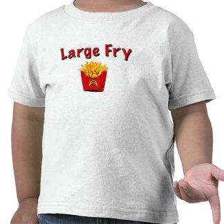 Camisa grande de la fritada