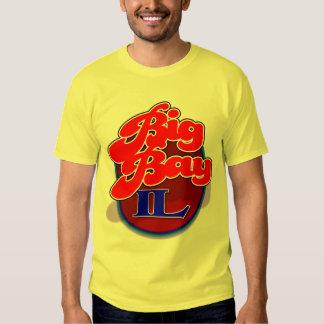 Camisa grande de la redada de IL de la bahía