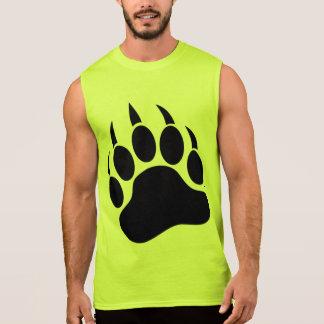 Camisa grande y responsable de la garra de oso gay