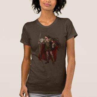Camisa griega del arte de Athena de la diosa