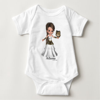 Camisa griega hermosa de la diosa de Kawaii Athena