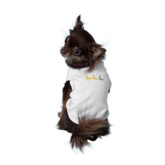 Camisa gris del perrito del pato del pato del pato ropa para mascota