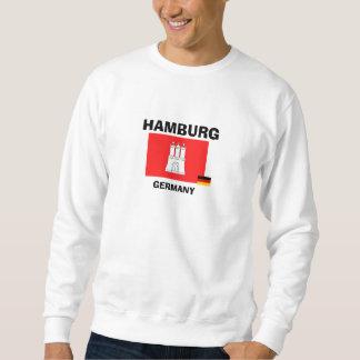 Camisa Hamburgo-Flagge Hemd de la bandera de