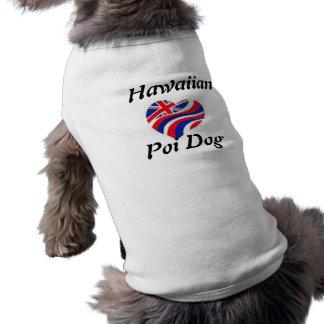 Camisa hawaiana del Dogie Camiseta De Perro
