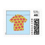 Camisa hawaiana sellos