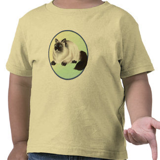 Camisa Himalayan del gatito