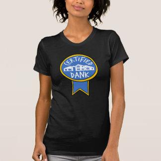 Camisa húmeda certificada de McMansion