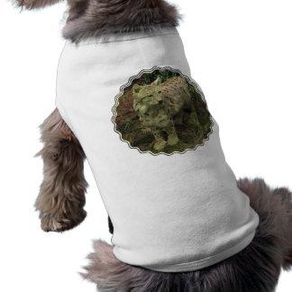 Camisa ibérica del mascota del lince camisa de perrito