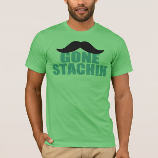 Camisa ida bigote IDA de la parodia de STACHIN