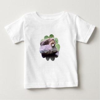 Camisa ideal del niño del oso de la piscina
