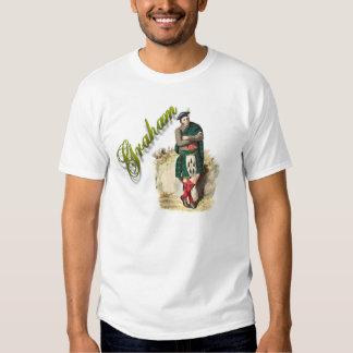 Camisa ideal escocesa de Graham del clan