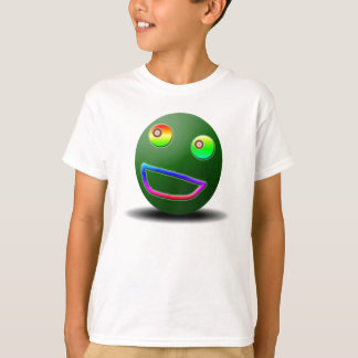Camisa impresionante del niño de la cara