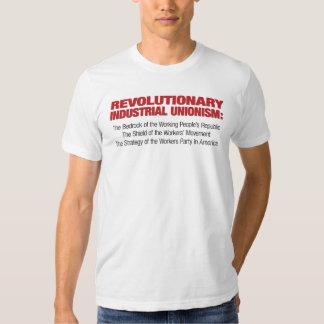 Camisa industrial revolucionaria del unionismo