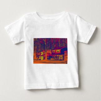 Camisa infantil alterada áreas residenciales