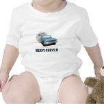 Camisa infantil con diseño del coche de la obra cl