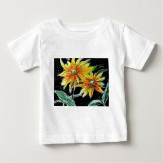 Camisa infantil con los girasoles