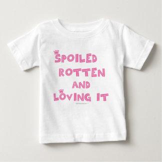 Camisa infantil putrefacta estropeada (texto