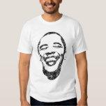 Camisa infecciosa de Obama de la sonrisa