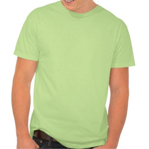 Camisa inicial rayada vertical del monograma