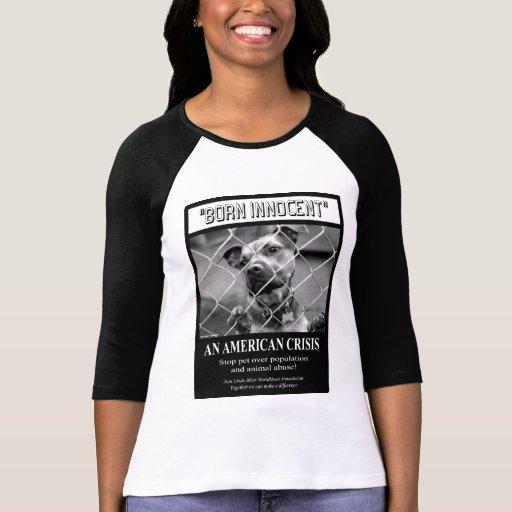 Camisa inocente nacida del raglán