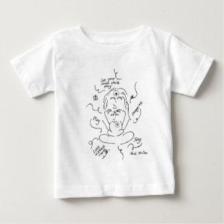 Camisa interna del bebé del niño