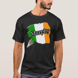 Camisa irlandesa de la bandera de la brocha de