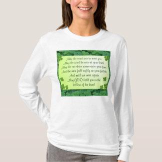 Camisa irlandesa de la bendición
