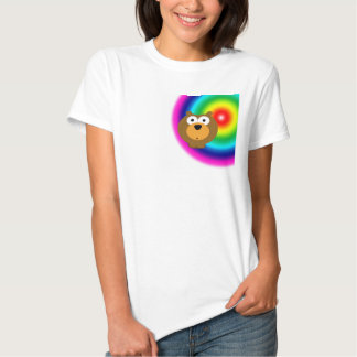 Camisa irregular linda del Critter
