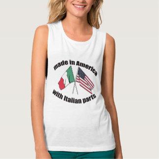 Camisa italiana caprichosa de la herencia para los