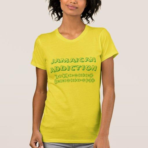 Camisa jamaicana del apego
