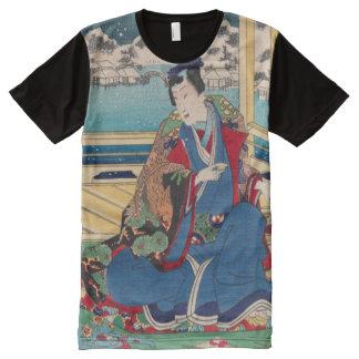 Camisa japonesa del arte