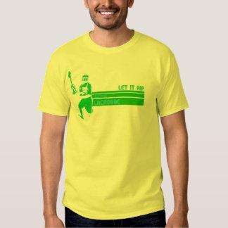 Camisa JD del lacrosse del vintage