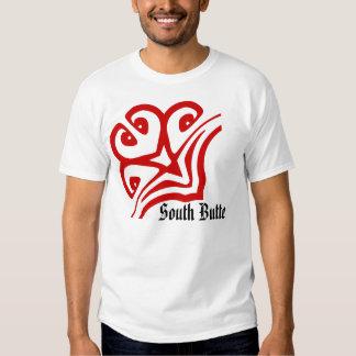 Camisa jeroglífica extranjera de la mota del sur