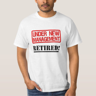 Camisa jubilada divertida
