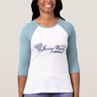 Camisa lanosa de los conejos del jersey
