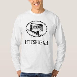 Camisa larga #1 de la pendiente de Pittsburgh