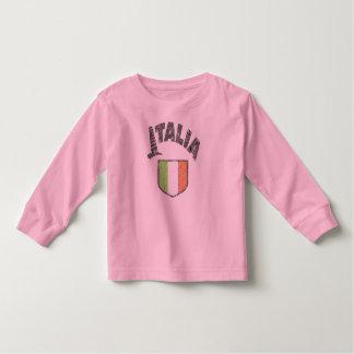 Camisa larga del niño de la manga de Italia