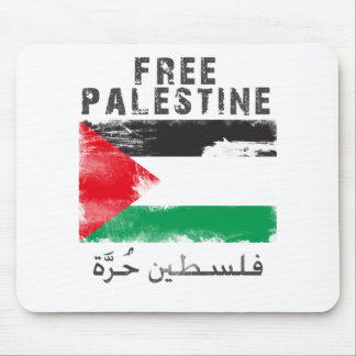 Camisa libre de Palestina Tapete De Ratones