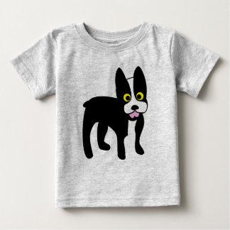 Camisa linda de Boston Terrier del dibujo animado